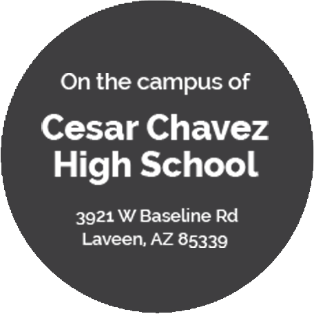 On the campus of Cesar Chavez  High School  3921 W Baseline Rd Laveen, AZ 85339